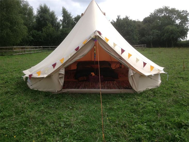 Glamping Bell Tent Hire VBOA Rally 2018