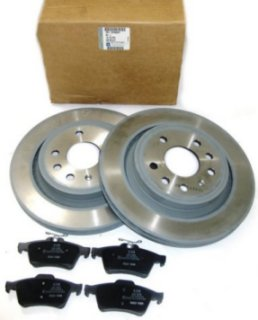 GM Boxed Front Brake Disc and Pad Set - Astra H ('05-10)